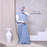 LANA DRESS, DRESS WANITA, DRESS MUSLIM, CASUAL DRESS