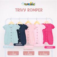 Shankusen Trivy Romper/ Romper Bayi Perempuan/Baju Anak Bayi Perempuan