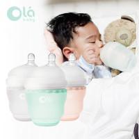 Olababy Gentlebottle 1 Pack (4 oz) - Botol Susu Bayi Silikon