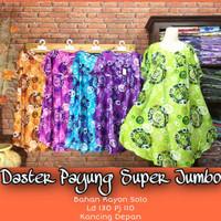 Daster Payung Super Jumbo Ld 130 cm Bahan Rayon Solo