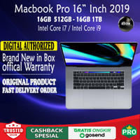 Apple MacBook Pro 2019 16 Intel Core i7 512 SSD with Touch Bar MVVJ2