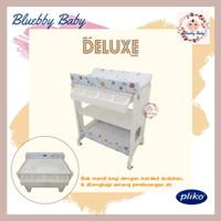 Pliko Baby Tafel Deluxe HY-11 2-in-1 Tempat Ganti Popok Bayi Bak Mandi - Flying Rabbit