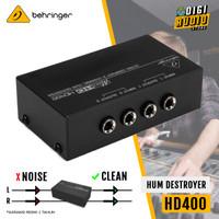 BEHRINGER HD400 [ HD 400 ] MINI 2 CHN HUM DESTROYER / SIGNAL PROCESSOR