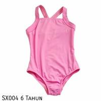 SX004 Justice Baju Renang Swimsuit Anak Pink
