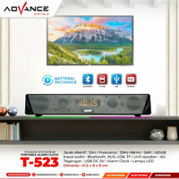 Speaker Advance Soundbar T-523