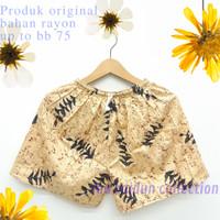 Celana Pendek Wanita Motif Batik - Batik E, All Size