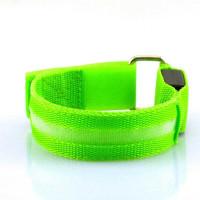 MRXS Sport Armband Lari Running Olahraga Safety LED Light MR233 - Hijau