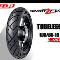 Ban Luar FDR Sport Zevo Tubeless (TL) 100/80 - 14 ALL MATIC