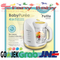 OONEW (Yellow) 4 in 1 Baby Pure Food Processor