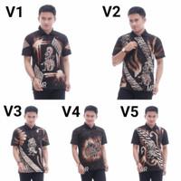 Kaos Kerah Batik Parang Warna Kekinian | Baju pria elegan