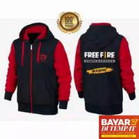 Jaket Sweater Anak Laki / Perempuan Hoodie Free Fire Ninja Size S M L