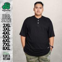 BIG JORDAN baju koko kurta pakistan pria ukuran besar XXL XXXL 4XL 5L
