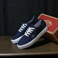 Sepatu Vans Pria Authententic Old skool Bnib Grade ori Navy maroon Abu