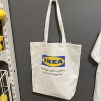 TOTE BAG IKEA / TAS KANVAS UNISEX / CANVAS BAG / SHOULDER BAG