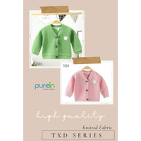 Purein - Baju Hangat Sweater Jaket Lengan Panjang Anak Bayi Set 2