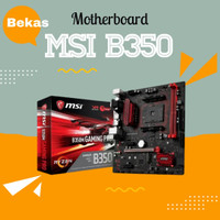 MSI B350M Gaming Pro AM4 Motherboard for Ryzen 7 2700X