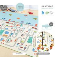 Playmat / Matras Lipat / Karpet Lipat Bayi Merangkak – Double Side