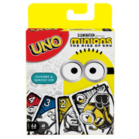 UNO Featuring Illuminations Minions The Rise of Gru Card Game Mattel