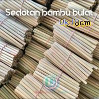 sedotan bambu tamiang 18cm isi 30 pcs