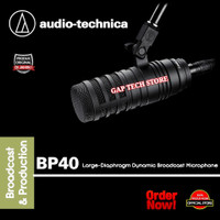 Audio Technica BP40 /BP 40Large-Diaphragm Dynamic Broadcast Microphone - BP40