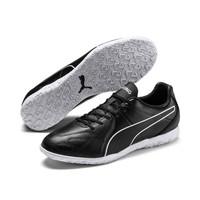 Sepatu Futsal PUMA KING Hero IT Black-White 105673 01