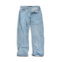 Vearst Pants Baggy Griffon Light Blue Washed