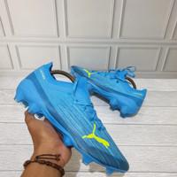 Sepatu Bola Puma Ultra 1.1 FG/AG Blue Premium Original