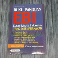 Buku EBI Ejaan Bahasa Indonesia Yang Di Sempurnakan Untuk SD SMP SMA
