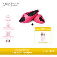 Sandal Wanita Kozuii Healthy Shoes Slimming - Pink