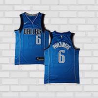 Baju Jersey Basket Swingman NBA Kristap Porzingis Dallas Mavericks