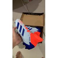 Sepatu Bola Adidas Predator 20.3 FG Blue Orange EH2925 Original BNIB