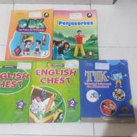 Buku kelas 2 sd SBK TIK Penjasorkes English chest Quandra sd kelas 2