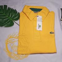 Kaos Kerah Lacoste Pria Polos (ada size) / Polo Shirt Pria/ Baju Cowok