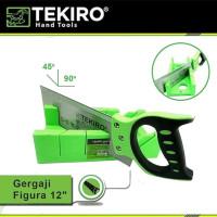 Gergaji Figura 12 /Mitre Box Back Saw/Tennon Saw Set Tekiro GT-PS1716