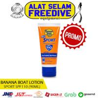 Banana Boat Lotion Sunblock Badan Sport Cream Sunscreen SPF 110 90ml
