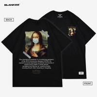 T-Shirt BLANKER Monalisa Mask Pandemic
