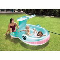 Kolam Renang Anak Intex 57440 Whale Spray Pool