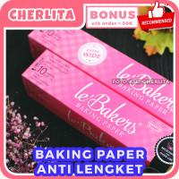 Baking Paper Le Bakers 30cm 40cm x 10 meter Kertas Baking Anti Lengket