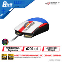 ASUS ROG Strix Impact II GUNDAM EDITION Gaming Mouse