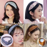 Bandana Korea Style Bando Rambut Motif Twist Premium