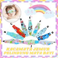 Pelindung Mata Bayi Saat Berjemur / Kacamata Bayi Baby Eye Mask D029