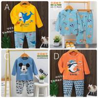 Baju Tidur Anak / Setelan Anak / Piyama Anak Import Laki Laki - Pjg 5
