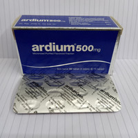 ardium 500mg strip asli