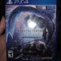 Monster Hunter World Iceborne PS4