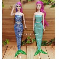 Baju Boneka Barbie Mermaid Putri Duyung
