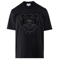 Baju Pria Kenzo Tiger Paris Black T-Shirt Cotton Quality Import - M