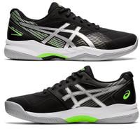 Sepatu Tenis Asics GEL-GAME 8 Black Pure Silver Tennis Original Asli