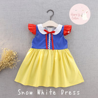 Baju/Kostum Anak Perempuan Disney Princess Snow White (1,2,3,4 tahun)