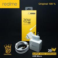 CHARGER CASAN REALME 3 Pro VOOC 20Watt 54-4A Original Fast Charging