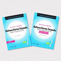 Buku Latihan Bahasa Korea Terpadu Untuk Orang Indonesia Jilid 1 + CD